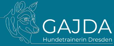 Hundetrainerin Dresden 🐶 GAJDA Logo